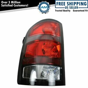 Red Border Taillight Taillamp Driver Side Left Lh Lr For 07 09 Gmc Sierra Denali