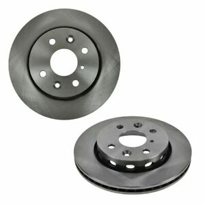 Front Disc Brake Rotors Left Right Pair Set Of 2 For Kia Sephia Spectra