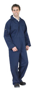 Flame Retardant Overalls Welding Welder Boilersuit Coverall 4 Colours 36 60