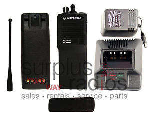 Motorola Mts2000 800mhz 48ch Trunking Fm Approved Radio Police Fire Smartnet H37