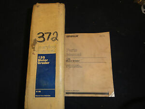 Caterpillar 12g Motor Grader Service Manual 61m