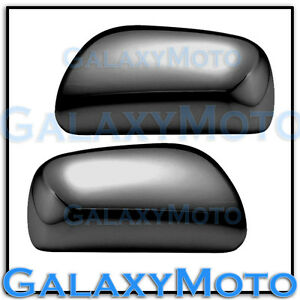 2007 2011 Toyota Yaris Triple Black Chrome Plated Abs Mirror Cover Trim Kit