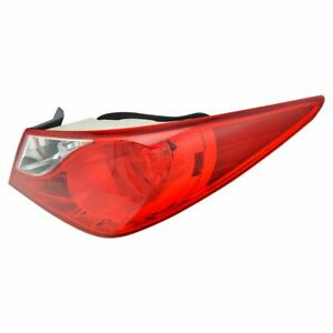 Outer Rear Taillight Taillamp Passenger Right Rh Fits 11 13 Hyundai Sonata New