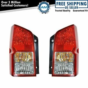 Taillight Taillamp Tail Brake Lights Left Right Pair Set For 05 12 Pathfinder