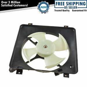 Ac A C Condenser Radiator Cooling Fan Assembly For 96 98 Honda Civic