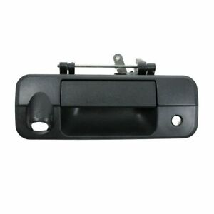 Tailgate Liftgate Handle Black Textured W Rearview Camera Hole For 07 11 Tundra