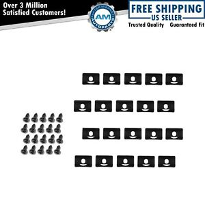 20 Piece Rear Window Molding Clips For 68 70 Dodge Plymouth
