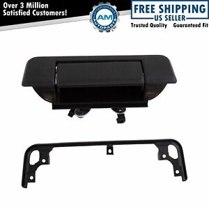 Tailgate Tail Gate Handle Black Rear For 84 88 Toyota Pickup Truck