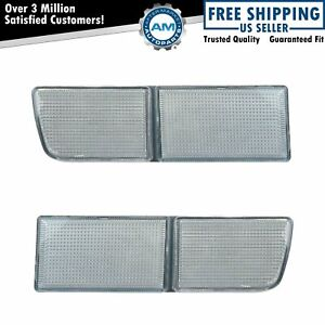 Tow Eye Cover Pair For Models Without Fog Lights For 93 99 Jetta Gti Cabrio Golf