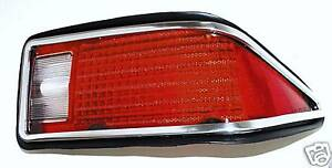 1974 1977 Camaro Tail Light Lens Assembly Right Passengers Side Rear New
