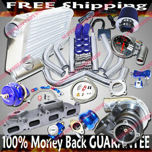 Cast Iron Manifold Turbo Kits Gt35 Turbo For 03 05 Dodge Neon Srt 4 2 4l Dohc