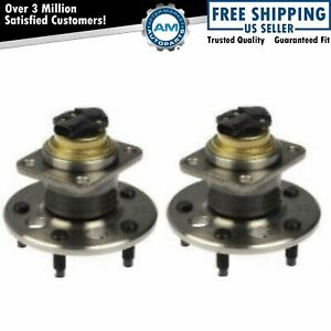 Rear Wheel Hub Bearing Assembly Pair Set For Buick Cadillac Olds Pontiac