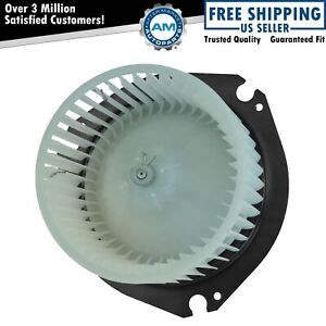 Heater Blower Motor W Cage For Chevy Suburban Cadillac Gmc