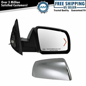 Chrome Signal Heated Side View Mirror Rh Right Passenger Side For Sequoia Tundra