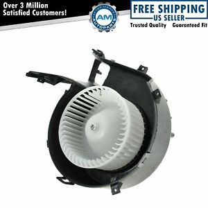 Interior Heater Blower Motor With Fan Cage 12799558 For Saab 9 3 9 3x