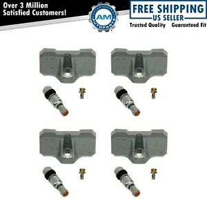 Dorman Tire Pressure Sensor Monitoring System Tpms 4 Piece Set Kit For Chevy Gmc