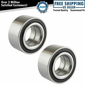 Wheel Hub Bearing Front Pair Set For Chevy Prizm Geo Metro Toyota Corolla New