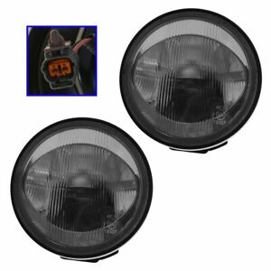 Fog Driving Lights Lamps Left Right Pair Set Kit For 01 03 Mazda Protege