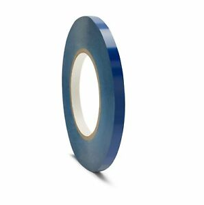 48 Rolls Blue Plastic Bag Tapes Poly Bags Sealer Tape 3 8 Inch X 180 Yards