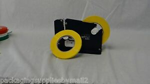 Poly Bag Sealer Tape With Dispenser 3 8 Inch X 180 Yards Yellow Color 48 Rolls