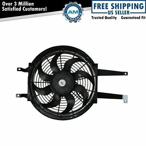 Auxiliary A C Ac Condenser Cooling Fan Assembly Right Rh For Chevy Gmc Pickup