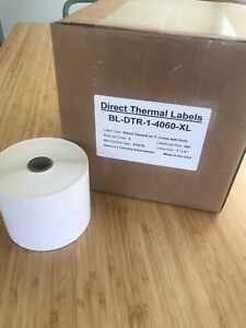 2 Rolls 4x6 Direct Thermal Labels Rolls Of 500 1000 Eltron Zebra 2844 450 Lp
