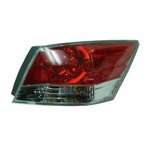 Taillight Taillamp Right Passenger Side Rear For 08 12 Honda Accord 4 Door Sedan