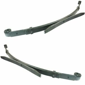Rear Leaf Spring Pair Set Suspension For 98 00 Toyota Tacoma Pickup Truck