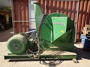 Wood Hammer Mill Grinder Blower Slicer 100 Hp Induction Motor