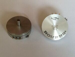 Bourns Potentiometer Precision 51mm 1 turn 5 Kilohms 10 lot Of 2