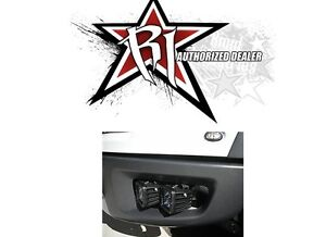 Rigid Industries Fog Light Brackets For 4 Dually Lights 10 14 Ford F150 Raptor