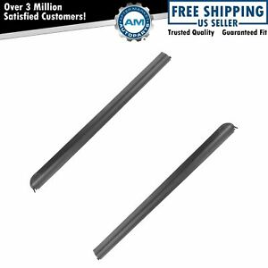Front Outer Window Sweep Felts Pair For 93 99 Mazda Pickup Ranger Truck