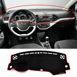 2011 2012 Picanto morning Dashboard dash Sun Cover Pad Mat Carpet Car