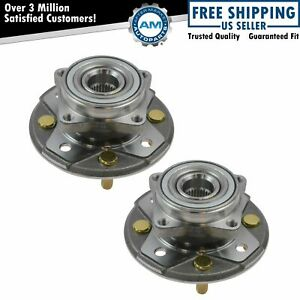 2 Front Wheel Bearing Hub For 1990 1991 1992 1993 1994 1997 Honda Accord 2 2l