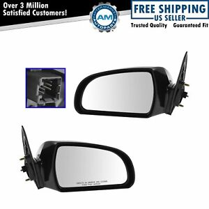 Power Heated Side View Mirrors Left Right Pair Set For 06 11 Sonata