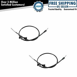 Emergency Parking Brake Cable Left Right Pair For Volvo V70 S70 Fwd New