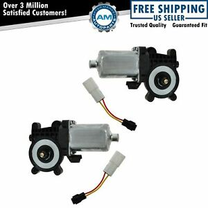 Dorman Rear Power Window Motor Pair Set For Cadillac Chevy Mb Ml Class Olds