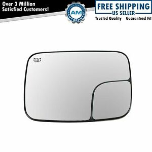 Dorman Power Heated Convex Side Mirror Glass Driver Left For Ram W Tow Package