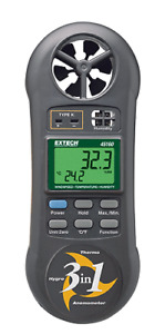 Extech 45160 3 in 1 Humidity Temperature And Airflow Meter