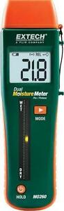 Extech Mo260 Combination Pin pinless Moisture Meter