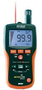Extech Mo297 Pinless Moisture Psychrometer With Ir Thermometer And Bluetooth