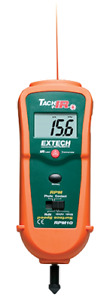 Extech Rpm10 Photo contact Tachometer With Built in Infrared Thermometer