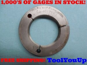 4 12 N 3 Thread Ring Gage No Go Only 4 000 P d 3 9404 Machine Shop Tooling