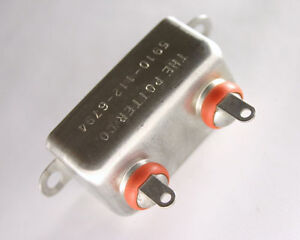 New Cp54b1ef104k 1uf 600vdc Oil paper Hermetically Sealed Bathtub Capacitor