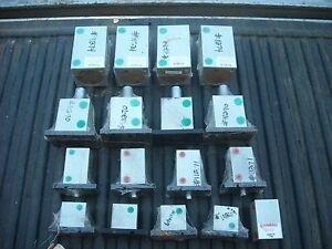 Compact Air Products Pneumatic Cylinders Lot Of 17 Various Sizes New