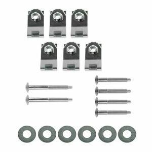 Dorman Bed Mounting Hardware Kit Of 18 Bolts Washers Nuts For 04 11 Ford Ranger