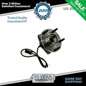 Trq Front Wheel Hub Bearing For Chevy Blazer S10 Gmc Jimmy 4wd 4x4 Awd W Abs