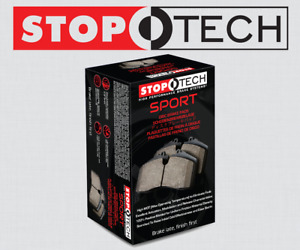Front Set Stoptech Sport Performance Disc Brake Pads High Friction 309 12890