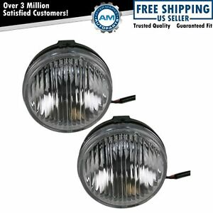 Driving Fog Lights Lamps Pair Set For Ford Ranger Pickup Truck F150 Lightning