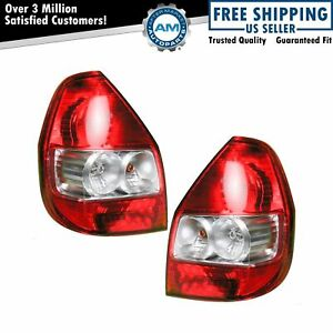 Taillight Tail Lamp Pair For Honda Fit 07 08